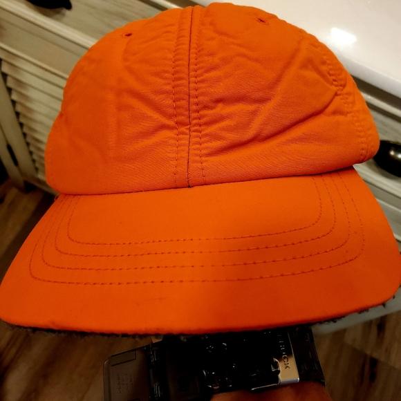 J. Crew Hunter Orange Insulated Baseball Style Hat